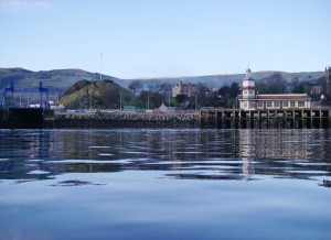 Dunoon shore front