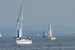 Sailing at Holy Loch